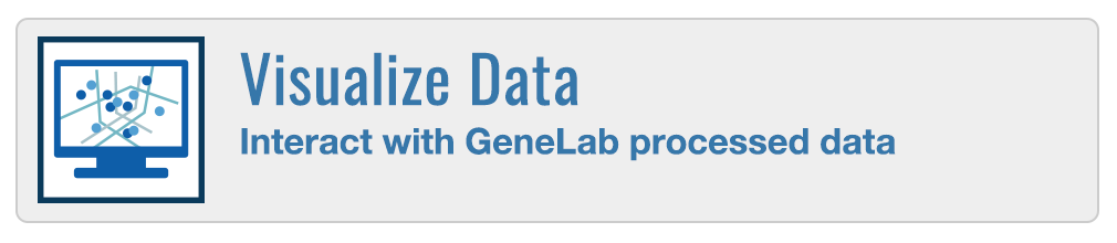 Visualize Data - Interact with GeneLab processed data