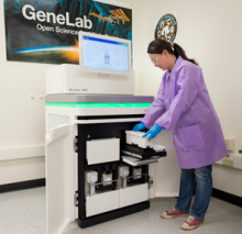 GeneLab receives new Illumina NovaSeq 6000 at NASA Ames.