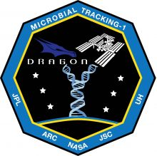 Microbial Tracking mission patch