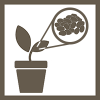 plant microbiome icon